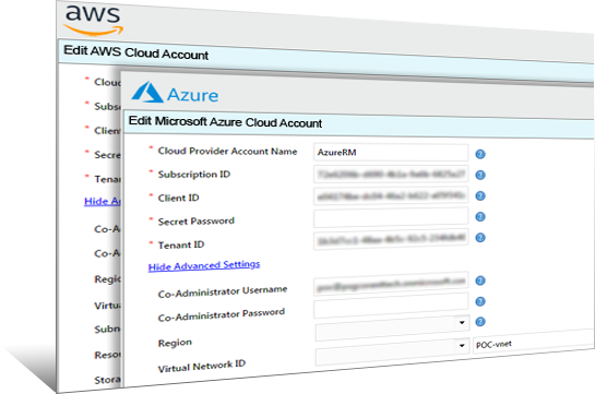 Simplify Cloud Account Management Image