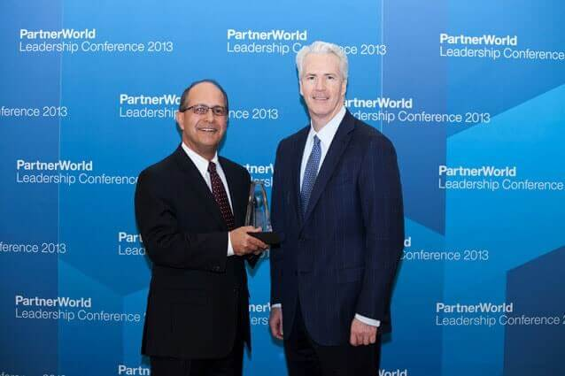 Award at IBM PartnerWorld Leadership Conference