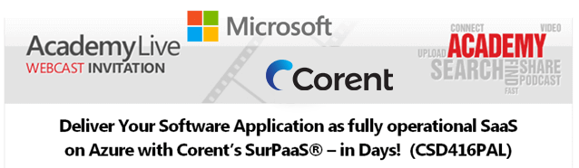 SaaS on Azure with Corent's SurPaaS