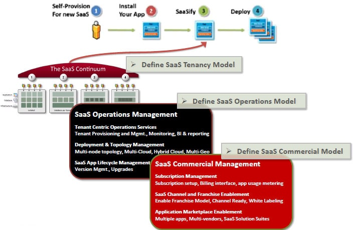 SaaS Virtual and Multi Tenancy Architecture